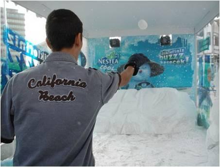 Nestea Kar Odası Etkinliği