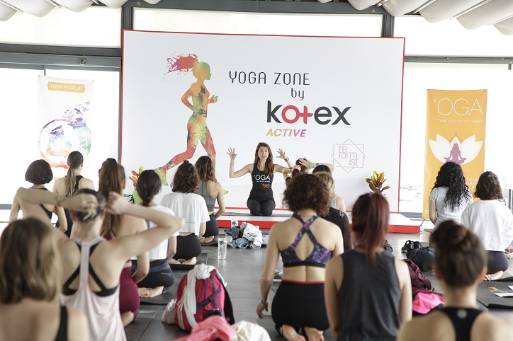 Yoga Zone By Kotex Active